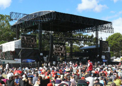 Osmond's 10th Year of Production Services with the Clipsal 500