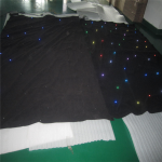 LED Star Curtain RGB 6×4